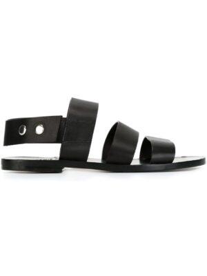 Damir Doma 'Floral' Sandal sneakers (zwart)