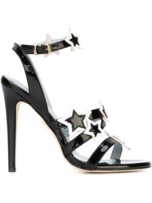 Chiara Ferragni Sandalen mit Stern-Patch sneakers (zwart)