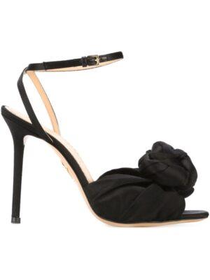 Charlotte Olympia Sandalen mit Blumenverzierung sneakers (zwart)
