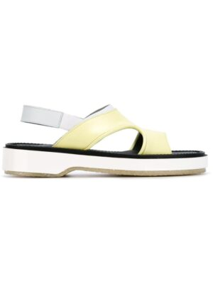 Adieu Paris Sandalen mit offener Kapp sneakers (geel)