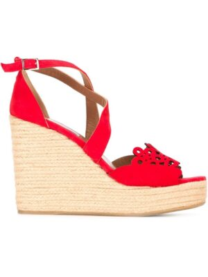 Tabitha Simmons 'Clem' Sandal sneakers (rood)