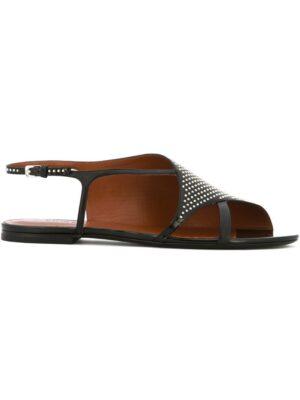 David Beauciel 'Asia' Sandalen mit Niet sneakers (zwart)