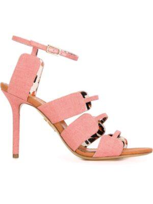 Charlotte Olympia 'Meryl' Sandal sneakers (paars)