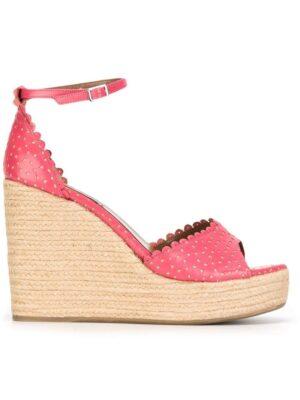 Tabitha Simmons 'Harp' Wedge-Sandal sneakers (paars)