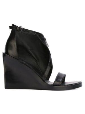 Ann Demeulemeester 'Ratio' Sandal sneakers (zwart)