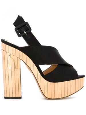 Charlotte Olympia 'Electra' Sandal sneakers (zwart)