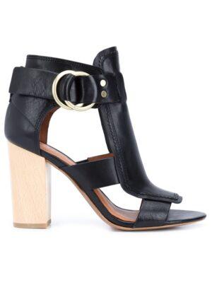 Derek Lam 10 Crosby Sandalen mit Blockabsatz sneakers (zwart)