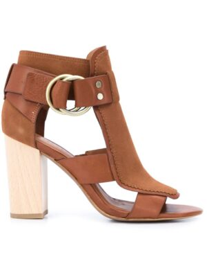 Derek Lam 10 Crosby Sandalen mit Blockabsatz sneakers (bruin)