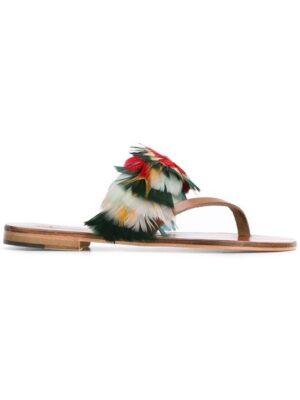 Álvaro 'Alberta' Sandal sneakers (bruin)