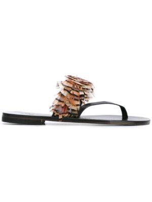 Álvaro 'Alberta' Sandal sneakers (zwart)