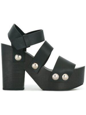 Alexander Wang 'Tess' Sandal sneakers (zwart)