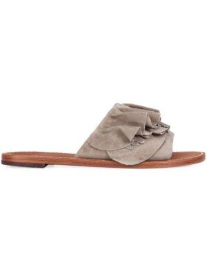 Derek Lam 10 Crosby Sandalen mit Rüsch sneakers (grijs)