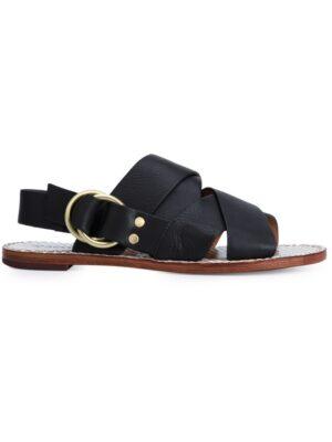 Derek Lam 10 Crosby Sandalen mit überkreuzten Riem sneakers (zwart)