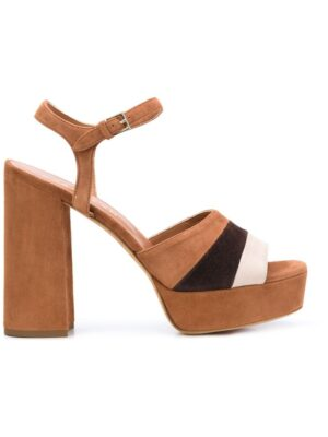 Derek Lam 'Brigitta' Sandalen mit Plateausohl sneakers (bruin)