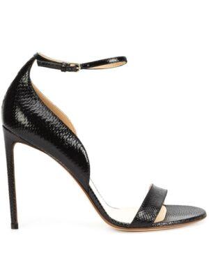 Francesco Russo Stiletto-Sandalen mit Knöchelriem sneakers (zwart)