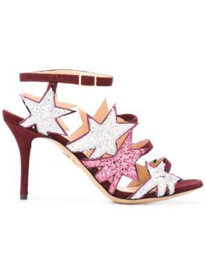 Charlotte Olympia 'Twinkle Toes' Sandal sneakers (paars)