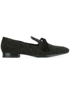 Fratelli Rossetti Slipper mit Glitzer-Finish sneakers (zwart)