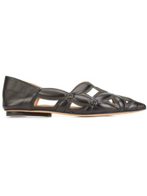 Derek Lam 'Saba' Slipper mit Cut-Out sneakers (zwart)