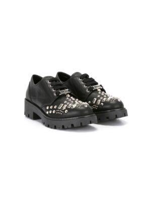 Am66 Schnürschuhe mit Niet sneakers (zwart)
