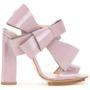 Delpozo Sandalen mit Oversized-Schleif sneakers (paars)