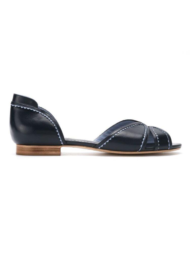 h Chofakian leather flat sandal sneakers (overige kleuren)