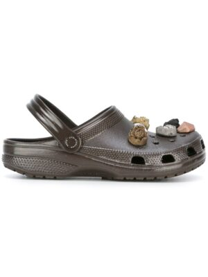 Christopher Kane 'Crocs' Sandalen mit Schmuckstei sneakers (bruin)