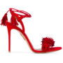 Aquazzura 'Wild Thing' Sandal sneakers (rood)