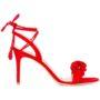 Gianvito Rossi Sandalen mit gerüschten Detail sneakers (rood)