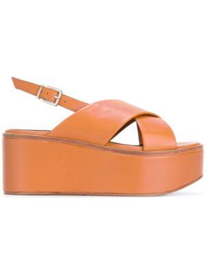Robert Clergerie 'Flix' Sandal sneakers (bruin)