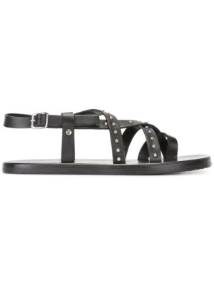 Dsquared2 Sandalen mit Niet sneakers (zwart)