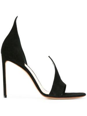 Francesco Russo Klassische Sandalen mit Stiletto-Absatz sneakers (zwart)