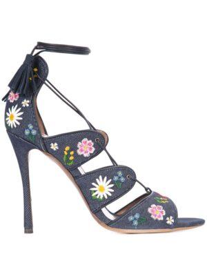 Tabitha Simmons 'Honor' Sandalen mit Blumenstickerei sneakers (overige kleuren)
