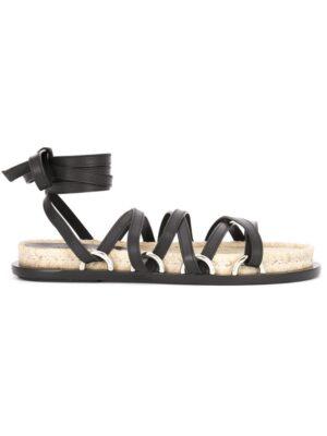 Alexander Wang 'Adriana' Sandal sneakers (zwart)