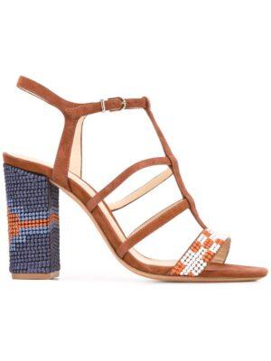 Alexandre Birman Verzierte Sandal sneakers (bruin)
