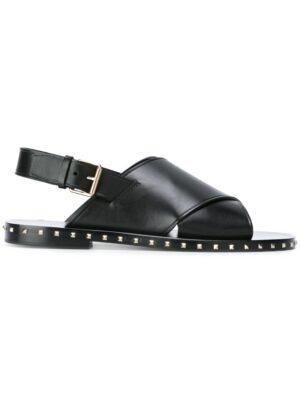 Valentino Valentino Garavani 'Soul Rockstud' Sandal sneakers (zwart)