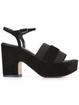 Robert Clergerie Plateau-Schuhe mit Keilabsatz sneakers (zwart)
