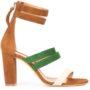 Alexa Wagner 'Betsy' Sandal sneakers (bruin)