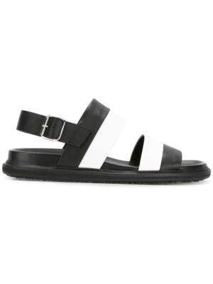 Marni Zweifarbige Sandal sneakers (zwart)