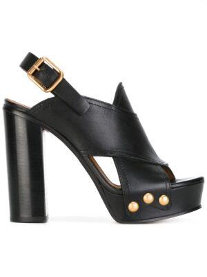 Chloé 'Mischa' Sandal sneakers (zwart)