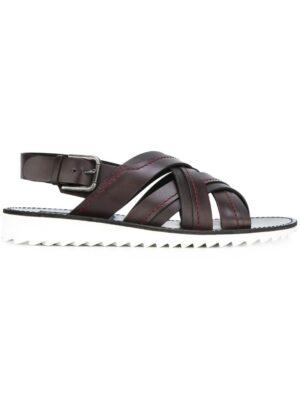 Dolce & Gabbana Sandalen mit Kontrastsohl sneakers (bruin)