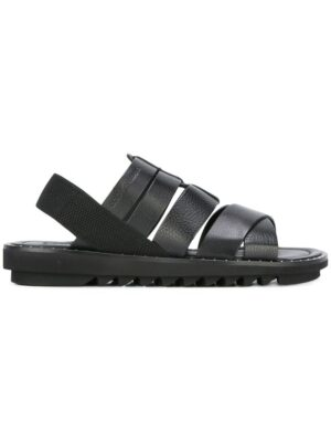 Dolce & Gabbana Sandalen mit breiten Riem sneakers (zwart)