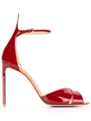 Francesco Russo Sandalen mit Stiletto-Absatz sneakers (rood)