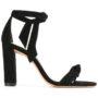 Alexandre Birman Sandalen mit Knotendetail sneakers (zwart)