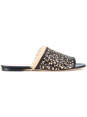Oscar de la Renta 'Charli' Sandal sneakers (zwart)