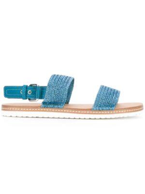 Casadei Sandalen mit gewebten Riem sneakers (overige kleuren)