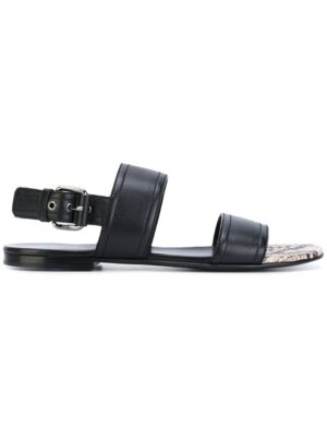 Casadei Sandalen mit Schnall sneakers (zwart)