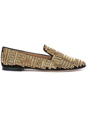 Giuseppe Zanotti Design Loafer mit Nietenverzierung sneakers (zwart)