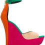 Balmain 'Zia' Wedge-Sandal sneakers (paars)