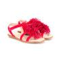 Aquazzura Mini 'Wild' Wildledersandal sneakers (paars)