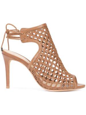 Alexandre Birman Zehenfreie Sandal sneakers (bruin)